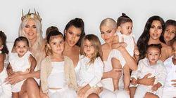 Les Kardashian vous souhaitent un joyeux