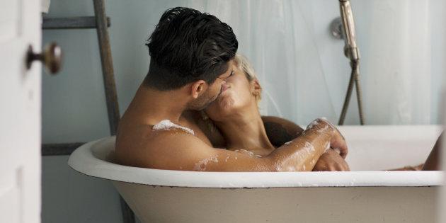 Avoir des relations sexuelles dans la douche