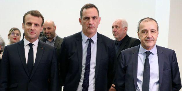 Les nationalistes corses (dont Gilles Simeoni et Jean-Guy Talamoni) boycottent le déjeuner avec