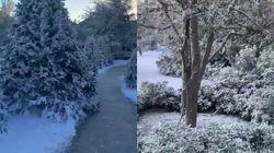 Pour Noël, la résidence Kardashian-West sous la neige (par