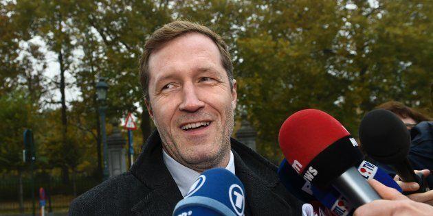 Paul Magnette à Bruxelles le 27 octobre