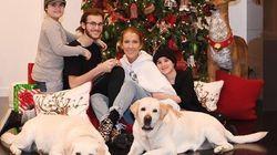 Céline Dion souhaite de joyeuses fêtes avec une adorable photo de