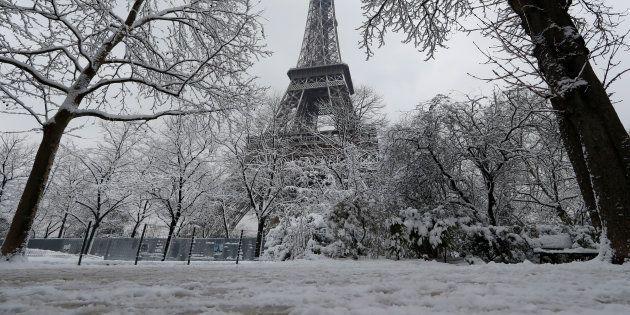 En fait si, Météo France a anticipé la neige. Voici