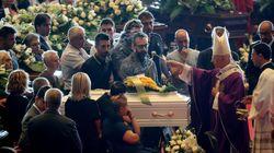 À Gênes, des funérailles d'État marquées par l'émotion et les