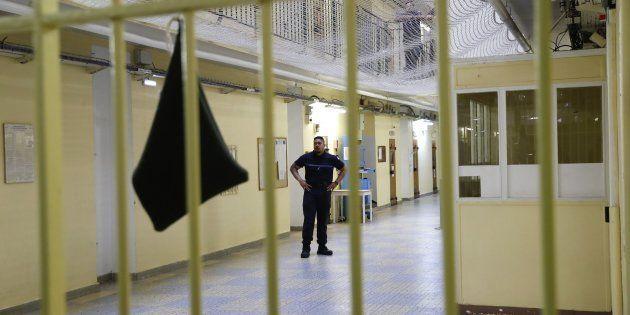 Un surveillant pénitentiaire à Fresnes, la prison où est actuellement incarcéré Kaaris, en septembre
