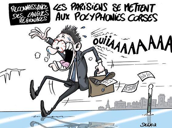 Après le discours de Macron, les Parisiens rendent hommage au peuple