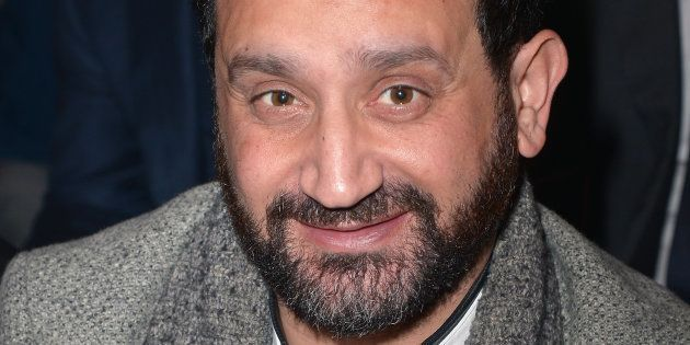Cyril Hanouna lors du défilé Balmain à la Fashion Week à Paris le 2 mars