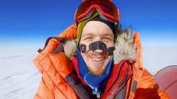 Cet homme est le premier à traverser l'Antarctique en solo et sans