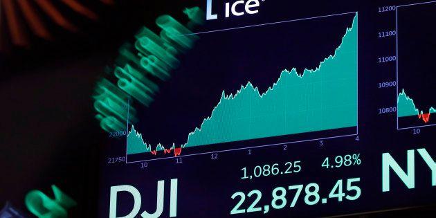 Si les indices vedettes de Wall Street ont connu une journée exceptionnelle, les causes profondes de...