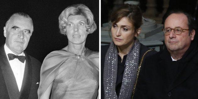 De Pompidou et Hollande à Nicolas Hulot, la réaction face à la rumeur a bien