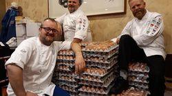 L'équipe olympique norvégienne s'est fait livrer 15.000 œufs à cause d'une erreur de traduction