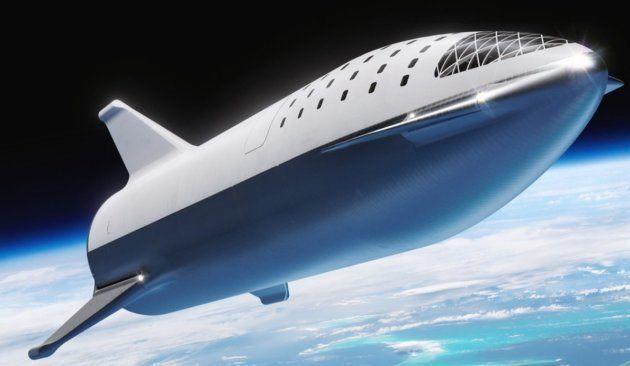 Le space ship de