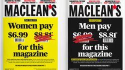 Pour lutter contre les inégalités, les hommes paieront plus cher ce magazine