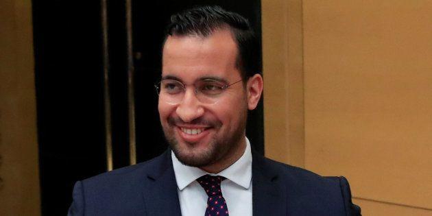 Alexandre Benalla lors de son audition par la commission d'enquête du Sénat, en septembre