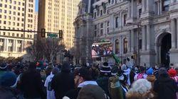 Un million de personnes dans les rues de Philadelphie pour fêter le Super
