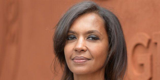 Karine Le Marchand à Paris le 4 juin