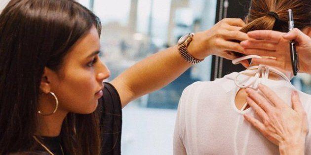 À l'occasion de la Fashion Week, Adidas lui commande une collection alors qu'elle n'a que 23 ans. (Daniëlle Cathari, janvier 2018)