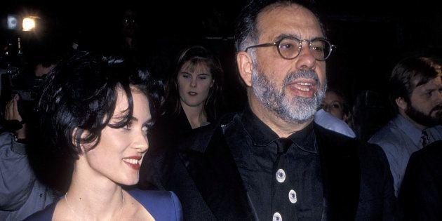 Winona Ryder et Francis Ford Coppola à l'avant-première