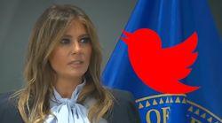 Melania Trump s'engage contre le cyberharcèlement, mais pas celui de son