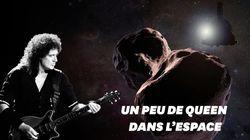 Le guitariste de Queen, Brian May, a écrit un hymne pour le survol de cet