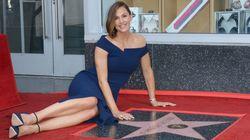 Jennifer Garner a obtenu son étoile sur Hollywood