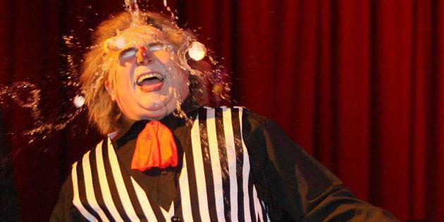 David Konyot lors d'un spectacle à Dublin en 2007