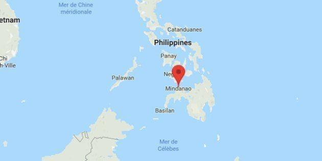 C'est l'île de Mindanao qui a été frappée par le séisme, un tsunami est craint sur les côtes philippines...