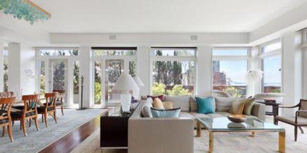 Le salon de l'appartement new-yorkais de Meryl