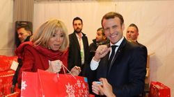 Aperçu à Saint-Tropez, Macron