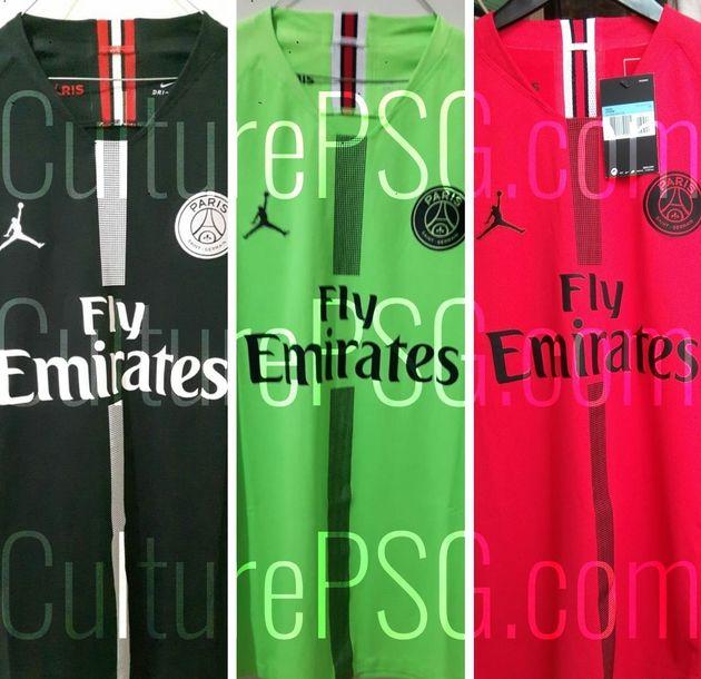 PSG x Air Jordan: la collection de maillots que les joueurs porteront en Ligue des Champions a
