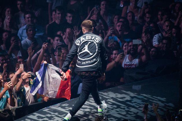 Justin Timberlake à l'AccorHotels Arena le 3 juillet
