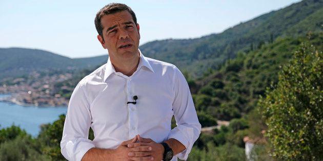 En Grèce, Alexis Tsipras a choisi ce 21 août un lieu hautement symbolique de la mythologie, l'île d'Ithaque,...