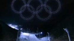 Lors de la cérémonie d'ouverture des JO, les drones ont battu un