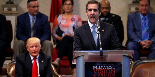 Michael Cohen, l'ex-avocat de Trump, reconnait avoir acheté le silence de deux