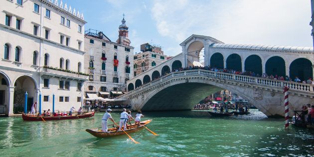 Vous devrez bientôt payer pour entrer à Venise (Photo d'illustration prise à Venise, le 2 septembre