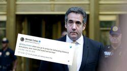 L'ex-avocat de Trump doit regretter ce tweet de 2015 sur Clinton après son plaider