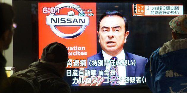 Carlos Ghosn est en détention au Japon, et sa garde à vue vient d'être prolongée (photo