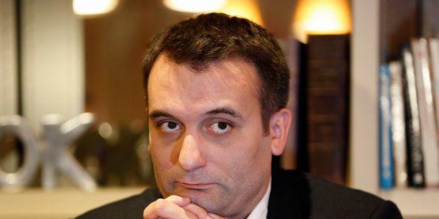 Florian Philippot a déposé deux plaintes pour des menaces de