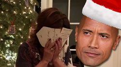 Le cadeau de Noël de The Rock à sa maman est dur à