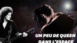 Une chanson écrite par Brian May, guitariste de Queen, pour le survol d'Ultima
