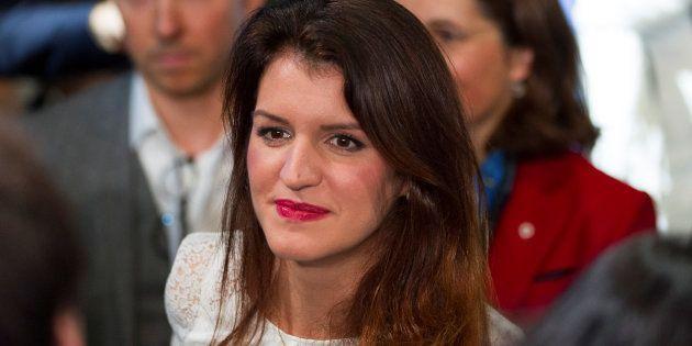 Marlène Schiappa, au Congrès LREM à Lyon au mois de