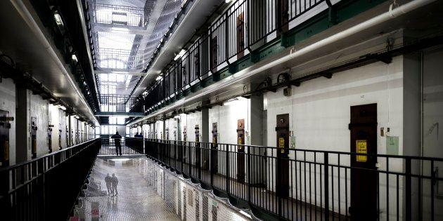 Une vue intérieure de la prison de Fresnes (octobre 2018, photo