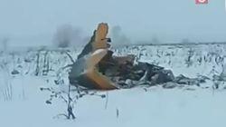Un avion de ligne russe s'écrase près de Moscou avec 71 personnes à bord, aucun