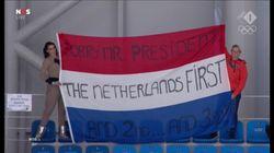 Ces supportrices néerlandaises aux JO avaient un message pour Trump (et ça ne va pas lui