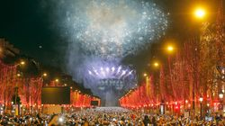 Les images impressionnantes du réveillon du Nouvel An sur les