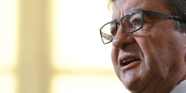Jean-Luc Mélenchon à Paris le 27 juillet