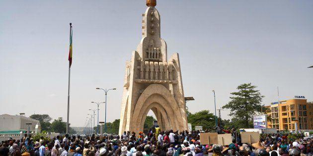Manifestation du Mouvement Peul et alliés pour la paix à Bamako en juin