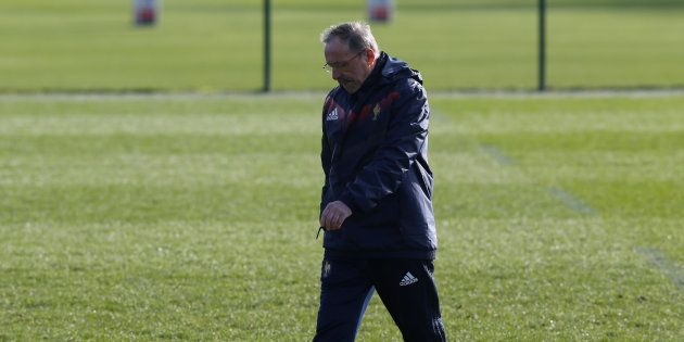 Rugby Union - France Training - National Rugby Center, Marcoussis, France - February 2, 2018 France head...