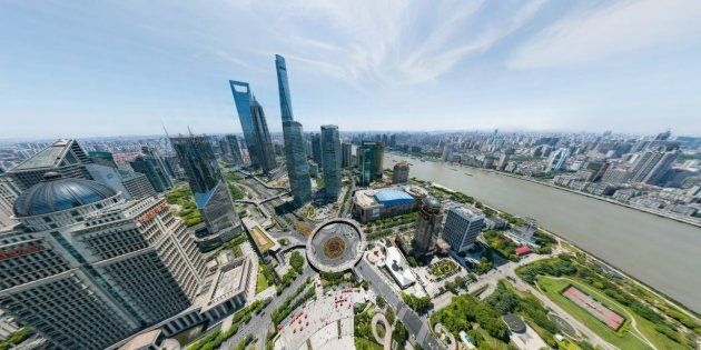 La start-up chinoise Big Pixel a fasciné les réseaux sociaux avec ce panorama inédit de