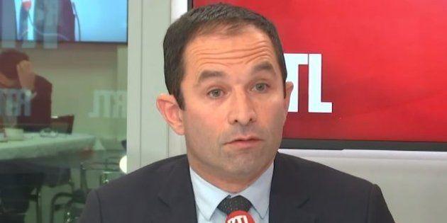 Benoît Hamon invité sur RTL le 2 janvier